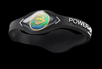 Silikonový Power Balance náramek černý