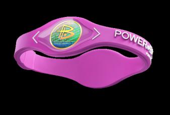 Silikonový Power Balance náramek růžový