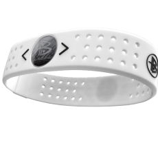 Silikonový Power Balance náramek EVOLUTION WHITE